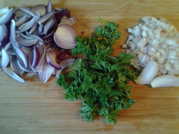 Kräuterseitlinge mit Bratkartoffeln - Rezept - Bild Nr. 3