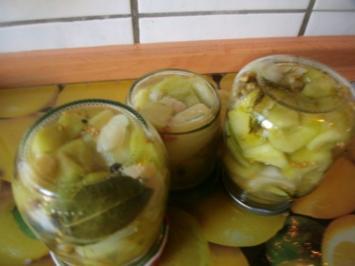 Senfgurken (Schluppergurken)nach Oma´s Rezept - Rezept