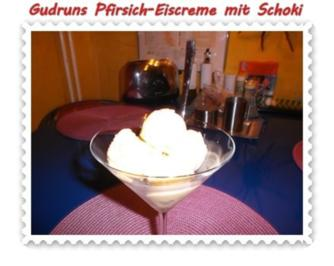 Eis: Pfirsicheis - Rezept