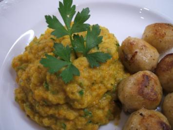 Gemüse: Karotten-Zucchini-Püree - Rezept