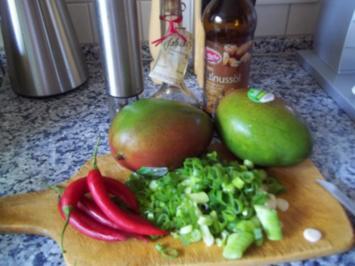 Mango-Salat - Rezept