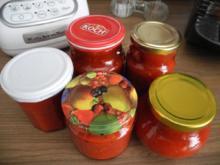 Vorräte : Tomaten - Paprika - Ketchup - Rezept
