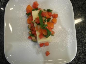 Melonen-Gurkensalat an Vanilletraum - Rezept