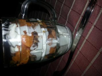 Mandarinen Quark mit Cookies - Rezept