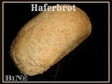 BiNe` S HAFERBROT - Rezept