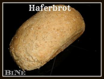 Rezept: BiNe` S HAFERBROT