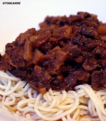 Spaghetti mit Ragú vom Rind - Rezept