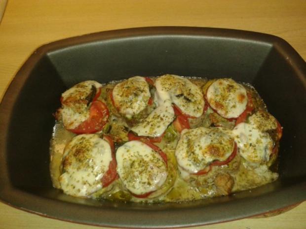 schweinelende tomate mozzarella rezept. Black Bedroom Furniture Sets. Home Design Ideas