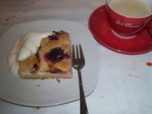 Pflaumenkuchen mit Pudding und Streuseln á lá Mama - Rezept