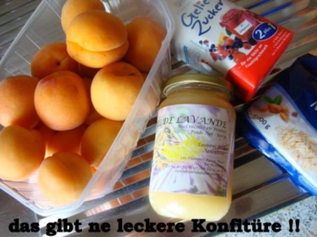 Aprikosen Konfitüre mit Mandeln-Lavendel und Honig - Rezept - Bild Nr. 3