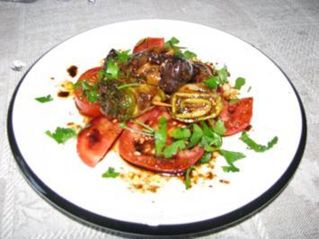 Vorspeise: Auberginen- / Zucchini-Röllchen - Rezept