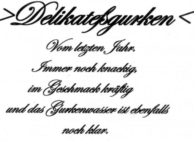 """""""Oma - Friede`s"""" Delikateßgurken im Gärtopf eingelegt. (Rzpt. um 1939) - Rezept - Bild Nr. 22"""
