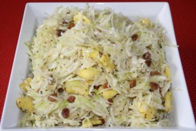 Karibischer Krautsalat - Rezept
