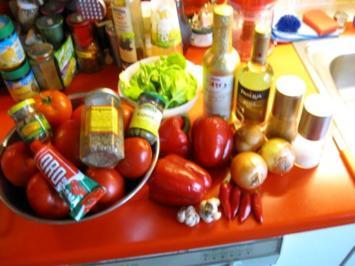Tomaten - Paprika Sugo selbst gemacht - Rezept
