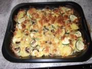 Zucchini-Kartoffel-Auflauf Dieter´s Art - Rezept