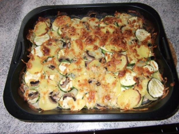 Rezept fur zucchini kartoffel auflauf