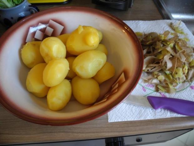 Beilagen: Schwäbischer Kartoffelsalat mit Rucola - Rezept - Bild Nr. 4