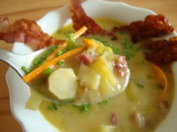 Westfälische Kartoffelsuppe - Rezept