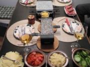 Essen mit Freunden : Raclettabend - Rezept