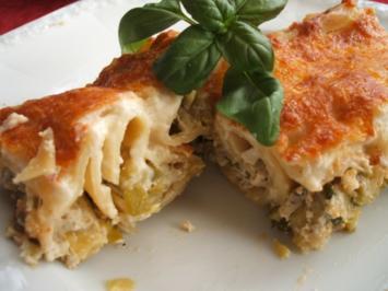 Pasta: Cannelloni di Verdura - Rezept