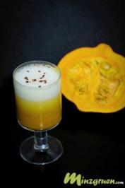 Kürbis-Kokos Cappuccino - Rezept