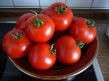 Vorräte : Tomaten - Ananas - Ketchup - Rezept