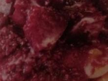 Quarkküchlein mit Fruchtsoße - Rezept