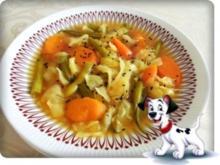 Bunte Gemüsesuppe - Rezept