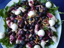Hähnchen - Heidelbeer - Salat - Rezept