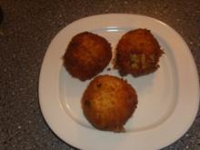Fritierte Couscous Bällchen - Rezept