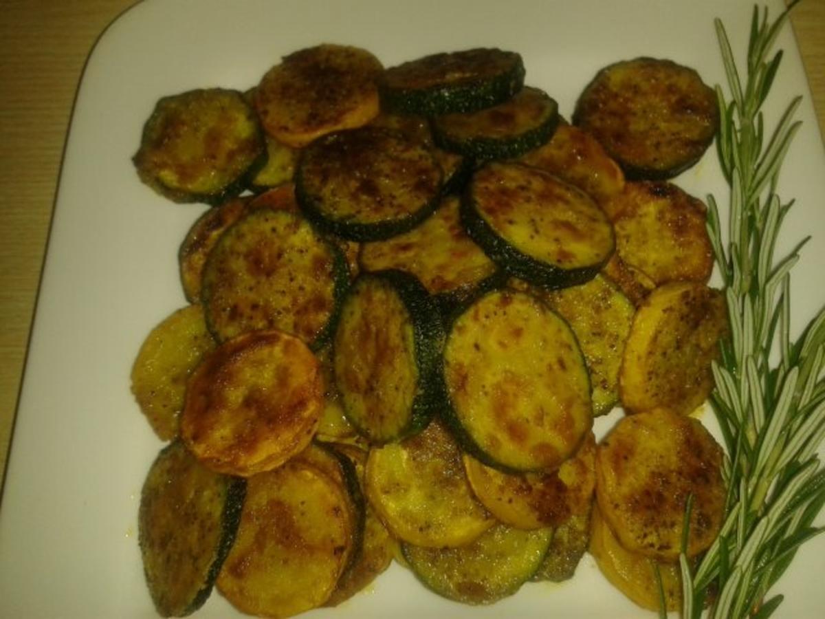Frittierte Zucchini - Rezept mit Bild