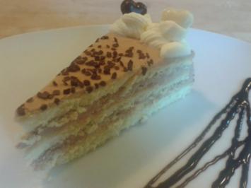 Schoko Buttercreme Torte - Rezept