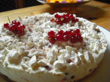 Johannisbeer-Karamell-Torte - Rezept