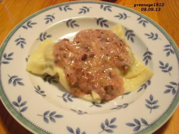 Pasta - Chilinudeln mit Feigen-Gorgonzola-Sauce - Rezept