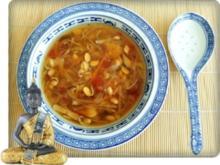 Scharf- saure  Pekingsuppe  mit frischen Shiitake - Rezept - Bild Nr. 5