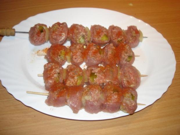 Fleischspieße - Rezept - Bild Nr. 10