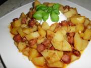 Ungarische Kartoffeln mit Kaminwurzel - Rezept