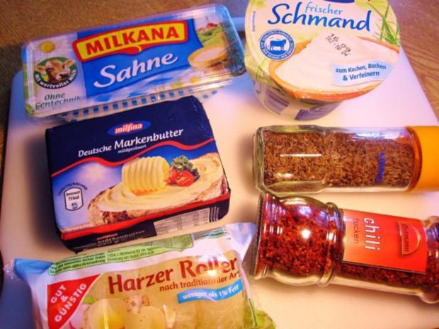Gekochter Käse nach einem Rezept aus der Eifel ... - Rezept - Bild Nr. 2
