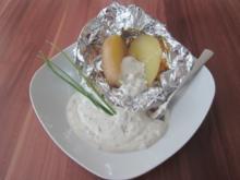 Kartoffeln mit Schnittlauch-Quark - Rezept