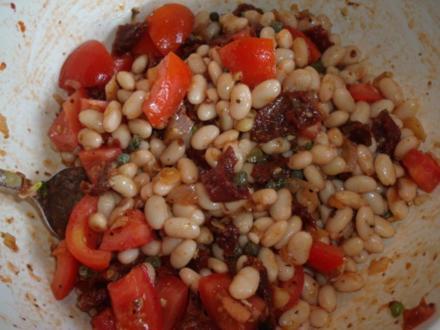 Italienischer Bohnensalat - Rezept