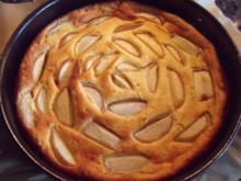 Pfirsich-Käsekuchen ohne Boden - Rezept