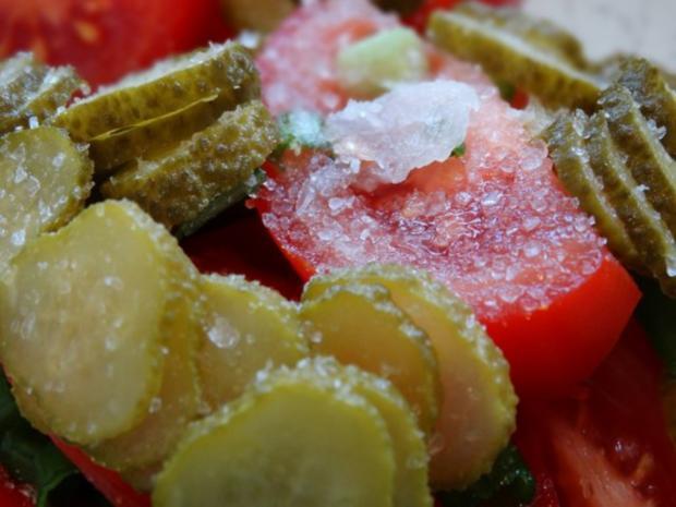 Tomaten-Gurken Salat - Rezept - Bild Nr. 4