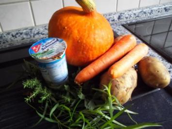 Kürbissuppe ala Hexe - Rezept
