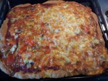 Janas schnelle Pizza - Rezept
