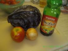 Apfel-Blaukraut - Rezept