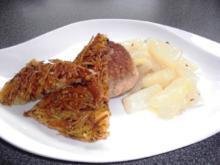 """Rösti """"Julienne"""" mit Bärlauch (GREGCHECK - Variante) - Rezept"""