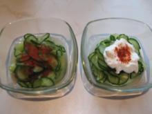 ungarischer Gurkensalat - Rezept