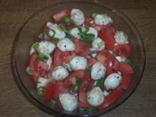 Mozarella-Tomaten-Salat - Rezept