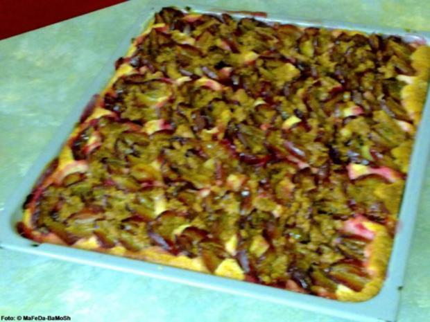 Zwetschgenkuchen mit Amaretti-Streuseln - Rezept - Bild Nr. 3