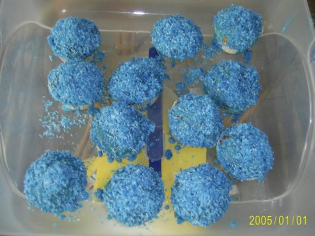 Muffins: Lustige Monster-Gesichter - Rezept - Bild Nr. 14